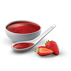 Salsa de fresa
