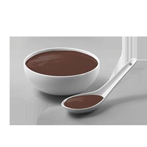 Salsa de chocolate negro